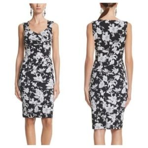 Floral and Instantly Slimming Night Out Dress